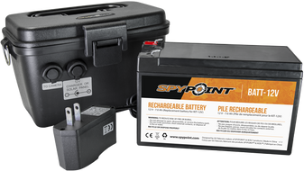 Spypoint 12v Battery, Charger & Housing Kit