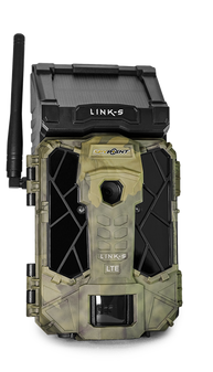 Spypoint Link-S Solar Cellular Game Camera - Verizon - Front View
