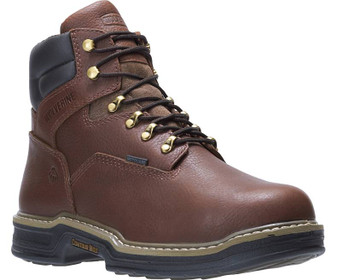 "Men's Darco Waterproof Metatarsal Guard Steel-Toe 6"" Work Boot by Wolverine front right side"
