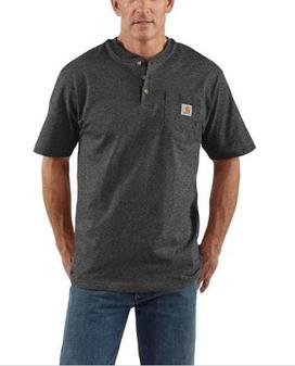 Carhartt Workwear Short-Sleeve Henley T-Shirt