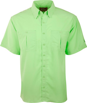 Drake Men's Vented Back Flyweight Short-Sleeve Shirt