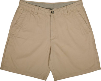 Drake Washed Cotton Canvas Shorts stone