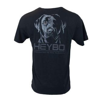 Heybo Back In Black Short-Sleeve Tee-Shirt