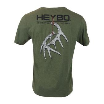 Heybo Hanging Antlers Short-Sleeve Tee-Shirt