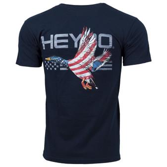 Heybo Patriotic Duck Short-Sleeve Tee-Shirt