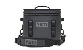 Yeti Hopper Flip 12 - Charcoal front
