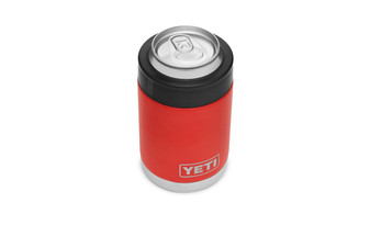 Yeti Rambler Colster - Canyon Red top