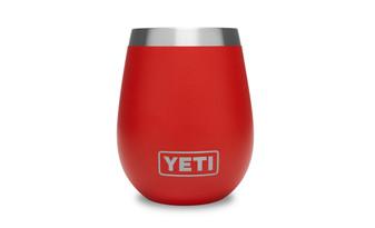 Yeti Rambler 10oz Wine Tumbler - Canyon Red front