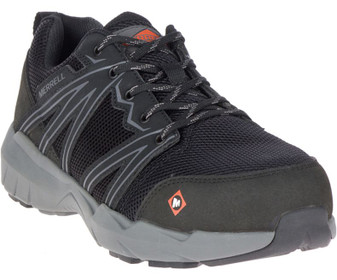 Men's Fullbench Superlite Alloy Toe Work Shoe by Merrell side