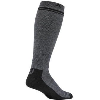 Wigwam Merino Wool Wilderness Midweight Over The Calf Sock charcoal