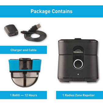 Thermacell Radius Zone Mosquito Repellent 2.0 details
