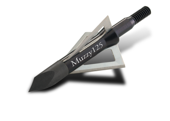 Muzzy 100gr 3 Blade Screw-In 6pk Broadheads