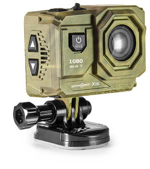 Xcel 1080 Compact Action Camera - Side View