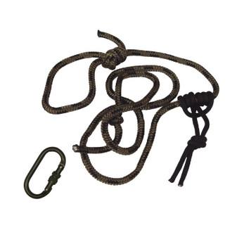 8' Lineman's Rope w/Carabiner