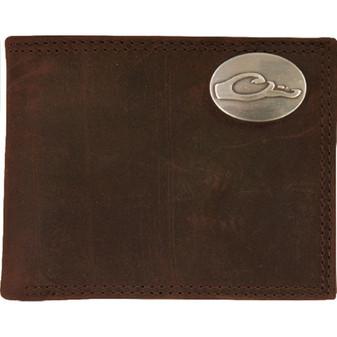 Leather Bi Bold Wallet