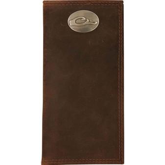 Drake Leather Checkbook Wallet