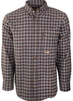 Drake Autumn Brushed Twill Button Up Shirt