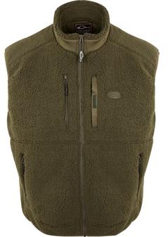 Drake Sherpa Fleece Layering Vest