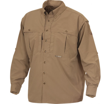 Drake Vented Wingshooters Long-Sleeve Button Up Shirt