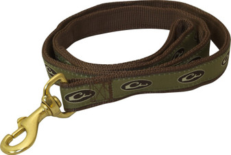 Drake 4' Brown Dog Leash