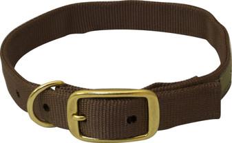 Drake Standard Dog Brown Collar