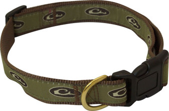 Drake Adjustable Brown Dog Collar
