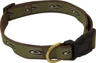 Drake Adjustable Brown Dog Collar