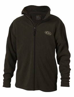 Drake Youth Camp Fleece Full Zip