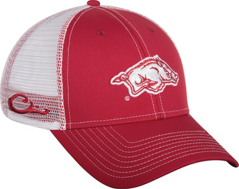 Drake University of Arkansas Mesh Back Cap wooooooooooh pig suie Razorbacks