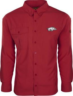 Drake Arkansas L/S Flyweight Shirt