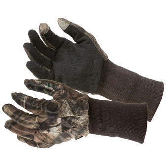 Mesh Hunting Gloves - MO Breakup Country