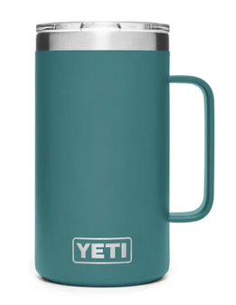 Yeti Rambler 14oz Mug - River Green