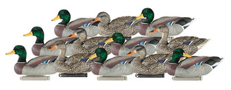 Dakota X-Treme Flocked Head Mallards