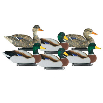 Dakota Fully X-Treme fully Flocked Mallards 6pk