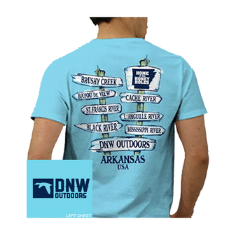 DNW Honey Hole Directional Sign S/S Tee