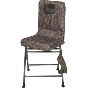 Banded Swivel Blind Chair-Bottomland
