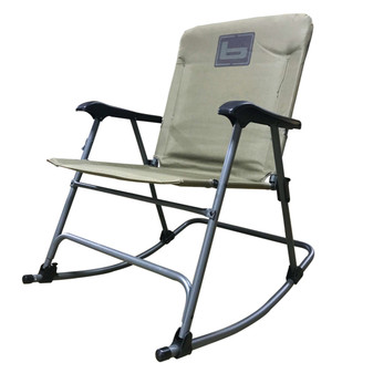 Banded Rocking Chair - Spanish Moss