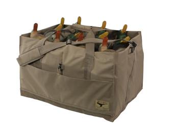 Avery 12-Slot Duck Decoy Bag - Khaki