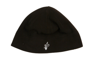 Fleece Skull Cap - Black