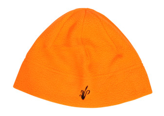 Windproof Fleece Skull Cap - Blaze Orange