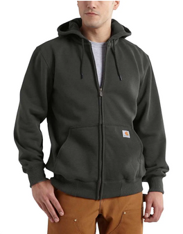 Carhartt Rain Defender Zip Hooded Sweatshirt