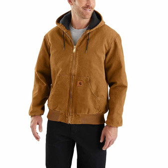 Carhartt Quilted Flannel-Lined Sandstone Active Jacket