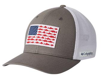 PFG Mesh Fish Flag Ball Cap