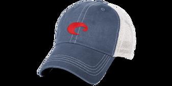 Costa Mesh Hat - Slate Blue