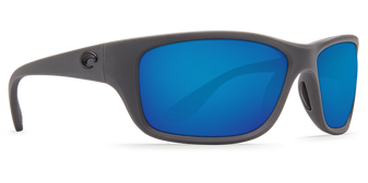 Tasman Sea - Matte Gray/Blue Mirror 580P