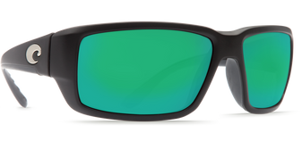 Fantail - Matte Black - Green Mirror 580G