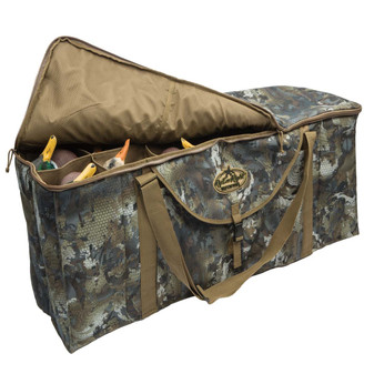 Rig' Em Right 12 Slot Deluxe Decoy Bag-Timber
