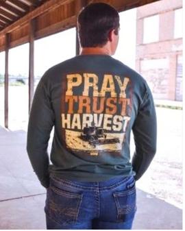 Pray Trust Harvest L/S
