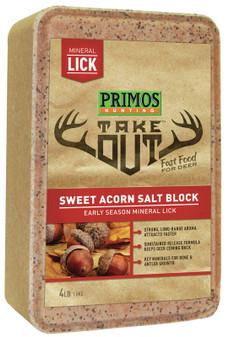 Take Out Sweet Acorn Salt Block