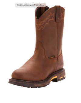 Mens Workhog Waterproof Pull-On Boot